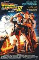 back to the future iii action movie poster