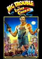 big trouble in little china action movie poster