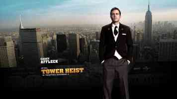 casey affleck tower heist action movie poster