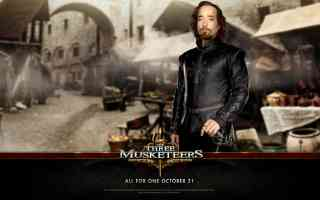 matthew macfadyen in three musketeers action movie poster