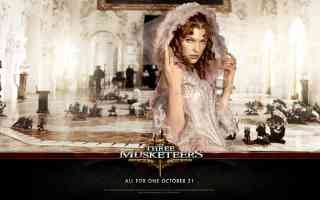 milla jovavich in three musketeers 2 action movie poster