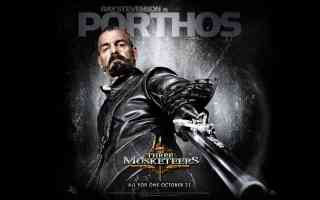 ray stevenson in three musketeers action movie poster
