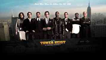 tower heist action movie poster