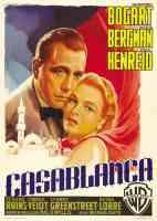 casablanca classic movie poster