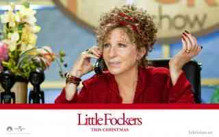 barbra streisand in little fockers comedy movie poster
