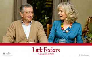 blythe danner in little fockers comedy movie poster