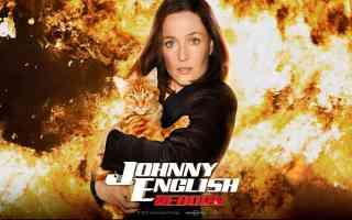 gillian anderson in johnny english reborn comedy movie poster