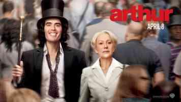 helen mirren in arthur comedy movie poster