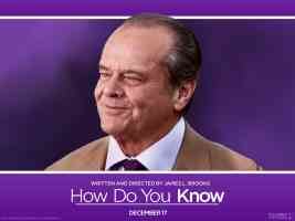 jack nicholson in how do you know comedy movie poster