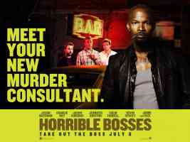 jamie foxx in horrible bosses comedy movie poster