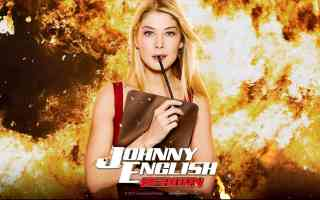 johnny english reborn girl 1 comedy movie poster