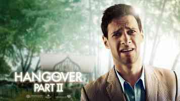 justin bartha in the hangover part ii comedy movie poster
