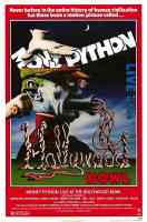 monty python live at the hollywood bowl comedy movie poster