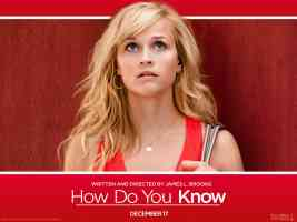reese witherspoon in how do you know comedy movie poster