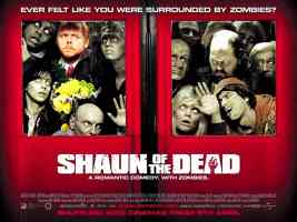 shaun of the dead landscape comedy movie poster