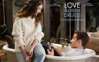 anne hathaway in love and other drugs romantic movie poster