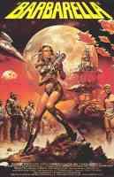 barbarella 2 sci fi movie poster