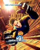 fantastic four mr fantastic superhero movie poster