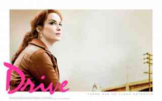 christina hendricks drive thriller movie poster