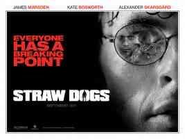 james marsden straw dogs thriller movie poster