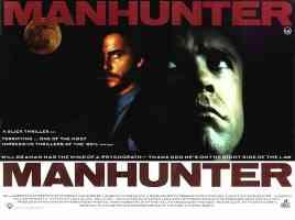 manhunter thriller movie poster