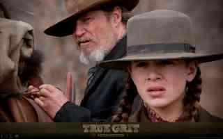 hailee steinfeld in true grit western movie poster